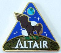 NASA Altair Lapel Pin